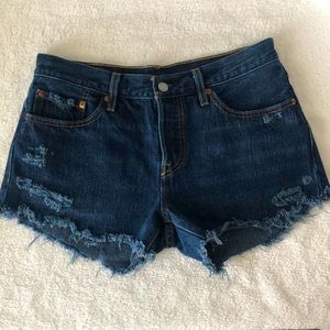 Levi's 501 Cutoff Shorts-never worn